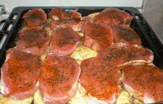 Jemne pikantné bravčové mäsko na srbský spôsob: Fantastické papanie komplet na jednom plechu! Pork Recipes, Diet Recipes, Cooking Recipes, Slovakian Food, Salty Foods, Food 52, Dinner Tonight, Crockpot, Good Food