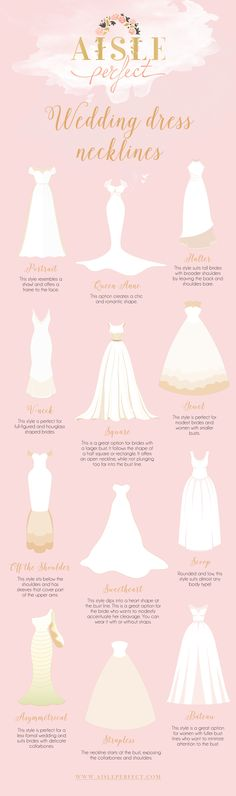 All About Wedding Dress Necklines - Perfete Stunning Wedding Dresses, Princess Wedding Dresses, Wedding Dress Styles, Dream Wedding Dresses, Bridal Dresses, Wedding Gowns, Wedding Dress Necklines, Necklines For Dresses, Wedding Planning Tips