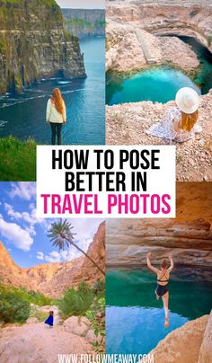 To Pose Better In Travel Photos Of Yourself Instagram Gallery, Instagram Pose, Instagram Travel, Travel Pictures, Travel Photos, Travel Tips, Travelling Tips, Travel Advice, Travel Essentials