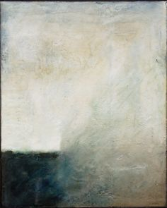 Sue Gordon - Untitled #2 (Encaustic on Canvas) Available at Gurevich Fine Art.  info@gurevichfineart.com