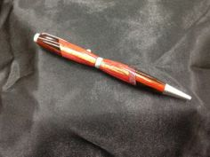 """Handcrafted """"Wild Child"""" 5 Wood Pen Finished In Satin Pearl"""