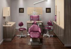 Dental office designed using Midmark's color selector!