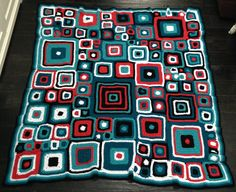 Ravelry: Project Gallery for Babette Blanket pattern by Kathy Merrick