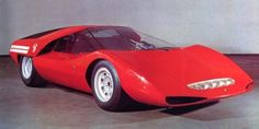1969 Abarth 2000 Pininfarina concept and still looks as good as it did back then.  Is that stunning or what?