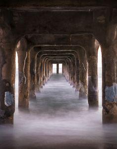 Manhattan Beach Pier (Under) - USA