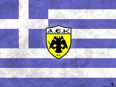 AEK Athens of Greece wallpaper. Greece Wallpaper, Hd Wallpaper, Wallpapers, Football Wallpaper, Football Players, Porsche Logo, Athens, First Love, Logos