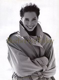 Burberrys today | Christy Turlington in Burberry Fall 1993 campaign - Fashioned by Love
