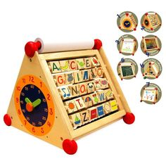 A multi-activity play centre that will provide hours of fun!  https://www.woodenwonderland.com.au/products/im-toy-7-in-1-activity-centre