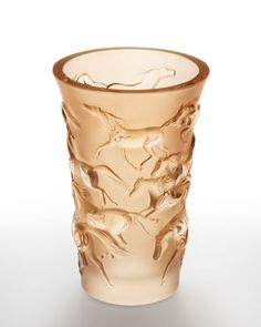 Lalique gold lustre crystal Mustang Vase, Neiman-Marcus. $1190, only 1 left 11/15/2014.   NMF15_H70CJ