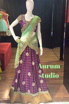 Lehenga Crop Top, Anarkali Lehenga, Half Saree Designs, Cheap Kids Clothes, Western Wear, Indian Dresses, Dress Skirt, Crop Tops, Formal Dresses