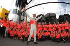 Jenson Button celebrates victory with his team | Formula 1 photos | ESPN F1