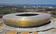Gdansk Stadium; beautiful architecture of Euro Cup 2012, Poland