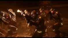 """Star Marine - Bullets"" Recreation of Cyberpunk 2077 teaser in Star Citizen"