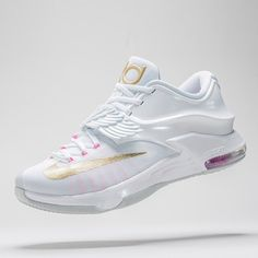 """""""Angelic.  See the Nike KD 7 """"Aunt Pearl"""" in detail on sneakernews.com"""""""
