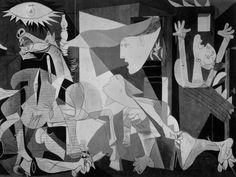Picasso Guernica fragmento