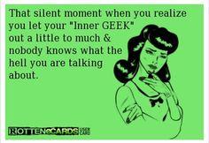 My inner geek