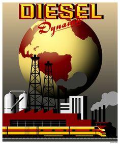 Diesel Dynamic Poster (Dieselpunk)
