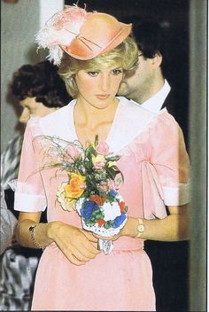 July 26, 1983: Princess Diana during the opening of the District General Hospital, Grimsby.