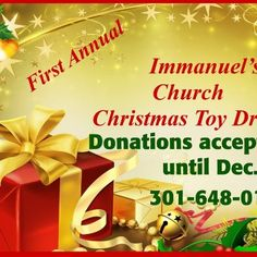 First-annual toy drive