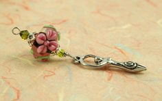 Blessingway bead - Golden Pink Blooms Goddess: https://www.etsy.com/listing/176928976/blessingway-bead-golden-pink-blooms