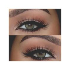 For beautiful green eyes ❤ liked on Polyvore featuring beauty products, makeup, eyes and eye makeup