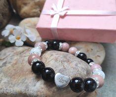 náramky z léčivých kamenů Beaded Bracelets, How To Make, Things To Sell, Jewelry, Jewlery, Jewerly, Pearl Bracelets, Schmuck, Jewels