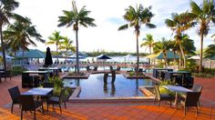 Novotel Twin Waters Resort Twin Waters Situated on Queenslands Sunshine Coast, the Novotel Twin Waters is set in tropical gardens surrounding a central private lagoon with its own sandy beaches.