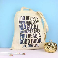 363aab185a6c Tote bag J.K. Rowling - Fable and Black. Gifts For ReadersBook ...