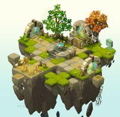ArtStation - Wakfu MMO Lead Level Design / Art Director, Severin Baclet