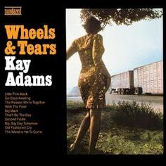 """Wheels & Tears"" (1966, Tower) by Kay Adams.  Her first LP."