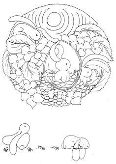 .pretty little design for Easter Egg.