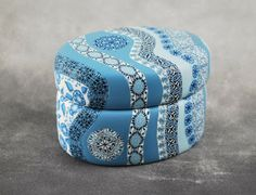 Julie Eakes - polymer clay covered ceramic box