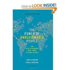 Power of unreasonable people. About social entrepreneurship.