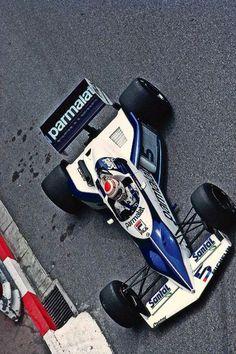 Nelson Piquet, @BrabhamOfficial BT52. 1983.