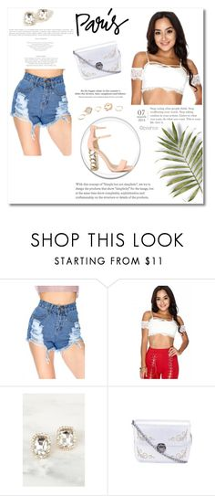 """""""Take Me To Paris"""" by amiclubwear on Polyvore featuring H&M and GUESS"""