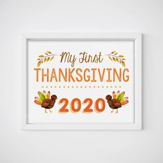 my first thanksgiving, first thanksgiving, thanksgiving 2020, baby's first, baby's thanksgiving, thanksgiving photo prop, baby's 1st signs Babys First Thanksgiving, Thanksgiving Photos, Thanksgiving 2020, Pregnancy Announcements, Photo Props, Make It Yourself, Activities, Signs, Handmade Gifts