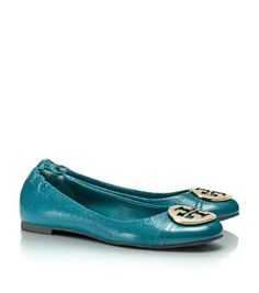 Lizard Printed Serena Ballet Flat | Womens All Revas | ToryBurch.com