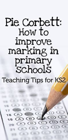 Improvements in children's writing will be proportionate to the quality of feedback and discussion in your classroom – ticking books doesn't help anyone, says Pie Corbett...