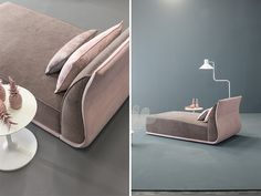 Drop bed and chaise longue by Twils