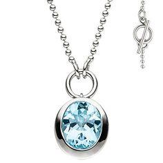 Dreambase Damen-Collier rhodiniert Silber 1 Topas 45 cm 1... https://www.amazon.de/dp/B01H800FXQ/?m=A37R2BYHN7XPNV