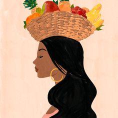 Sabina Fenn is an artist & illustrator based in Toronto, Canada. She ships artwork worldwide. Art Sketches, Art Drawings, Latino Art, Mini Canvas Art, Mexican Art, Aesthetic Art, Graphic Illustration, Illustrations, Female Art