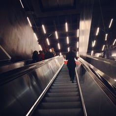 Image result for tate modern building escalator
