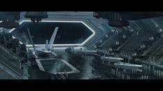 ArtStation - Star Wars: The Force Awakens [Finalizer Hangar], James Clyne