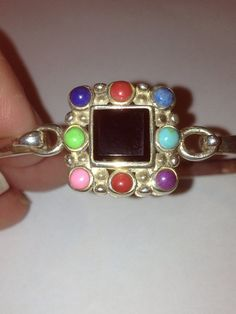 Lapis Sugilite Turquoise Bracelet Sterling Silver by BargainBitz, $66.00