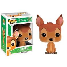 Bambi Flocked Pop! Disney Funko POP! Vinyl