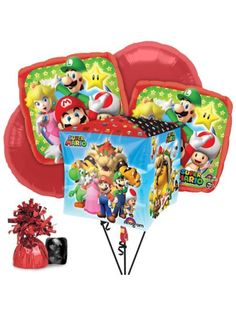 Shopping for Mario Balloon Bouquet Kit for your next bash? Locate Birthday in a Box for the popular and party ideas for cheap prices.
