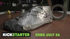 scandinavian turn shoe making animation design and patterning - YouTube
