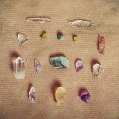 Crystals...crystals & more crystals