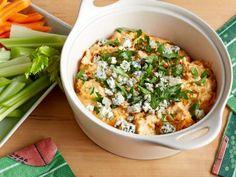 Lightened-Up Slow-Cooker Chicken Buffalo Dip Recipe | Food Network Kitchen | Food Network