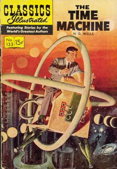 As I was always fascinated with time travel in general, I had to read The Time Machine by  H.G. Wells.   I also had fun explaining my 4 year old daughter what a time machine actually is :)